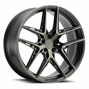 19 Xo Cairo Grey 19x8 5 19x9 5 Forged Concave Wheels Rims Fits Mazda Rx 8