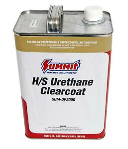 Paint Single Stage High Solids Acrylic Urethane Gloss Clear Coat 1 Gallon Each