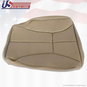 1998 To 2002 Dodge Ram 1500 2500 3500 Driver Bottom Seat Cover Tan Extended Cab