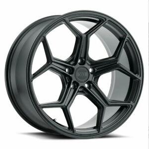 22 Xo Helsinki Black 22x9 22x10 5 Concave Wheels Rims Fits Dodge Charger