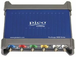 Pico 3403d Picoscope Pc Oscilloscope 4 Channels With Fg awg 50 Mhz