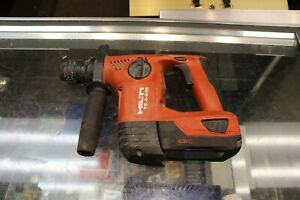 Hilti Te 4 a18 Cordless Rotary Hammer Drill With Battery