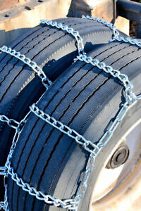 Titan Heavy Duty Mud Service Tire Chains Dual triple Off Road 8mm 9 50 16 5