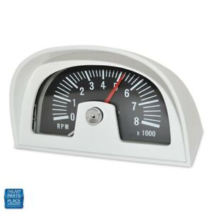 1960s 70s Hood Tach Tachometer Dixco Style 8000 Rpm 8 Cylinder Only Nos Quality