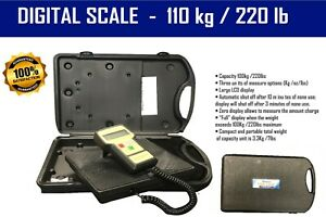 Electronic Refrigerant Charging Digital Weight Scale With Case Tds100k