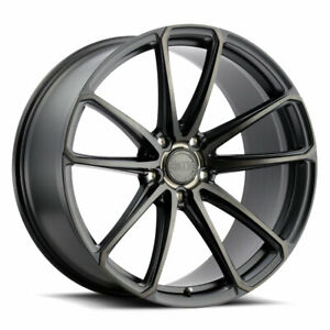 20 Xo Madrid Black 20x9 20x10 5 Forged Concave Wheels Rims Fits Jaguar Xkr