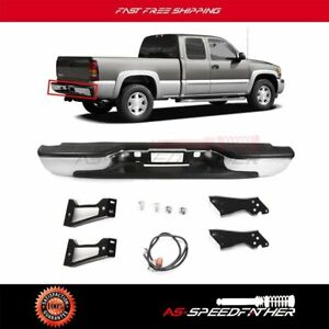 For 1999 2007 Chevy Silverado gmc Sierra 1500 Rear Bumper 2500 2005 2006