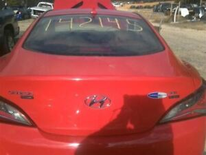 Trunk hatch tailgate Coupe Without Spoiler Fits 09 16 Genesis 277492