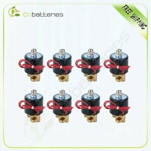 1 4 npt Air Ride Suspension Valve Brass Electric Solenoid For Train Horn Fast 8