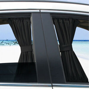 1pc Car Sun Shade Side Window Curtain Auto Foldable Uv Protection Auto Parts