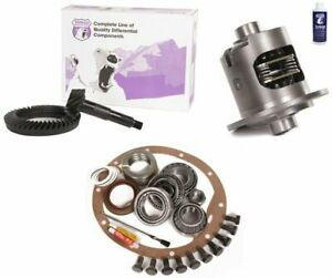 Jeep Wrangler Yj Tj Xj Dana 35 Rear 3 73 Ring And Pinion Posi Lsd Yukon Gear Pkg