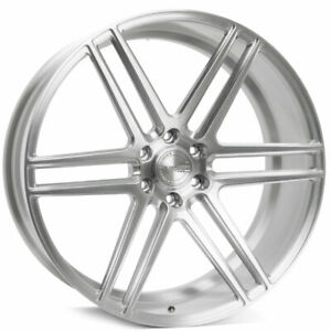 22 Velgen Vft6 Silver 22x10 Forged Concave Wheels Rims Fits Ford F 150