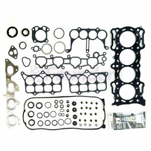 Head Gasket Set Kit For Honda 1994 1996 Prelude S 1990 1993 Accord 2 2l