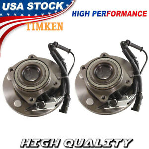 Timken Front Wheel Bearing And Hub Assembly Set For 08 16 Chrysler Town