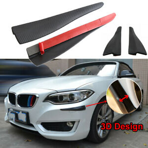 Sill Plate Bumper Guard Protector Carbon Fiber Sticker Trim For Bmw All Series