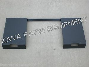 Skidsteer Quick Attach Adapter Weld On Plate Buckets pallet Forks bale Spears