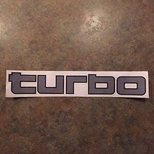 Turbo Decal Sticker Toyota Diesel Land Cruiser Bj71 Bj74 Hj61 Lj70 Lj71 Lj73 Hzj