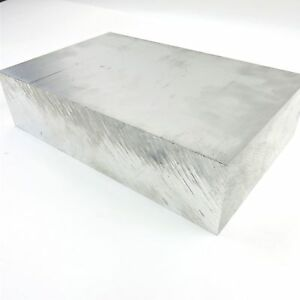 2 5 Thick 6061 Aluminum Plate 4 4375 X 7 9375 Long Solid Stock Sku 122259
