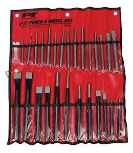 Performance Tool W754 Punches And Chisels Storage Pouch Set Of 28