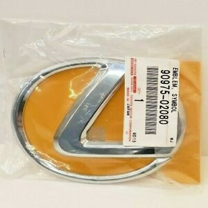 Lexus Oem Factory Front Grill Emblem 2006 2013 Is250 Is350 w o Pre collision