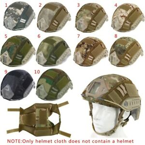 Sport Airsoft Paintball Tactical Military Gear Combat Fast Helmet Cover Tool USA