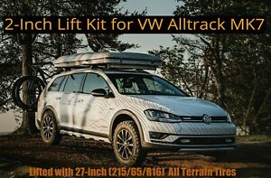 Lift Kit For Vw Alltrack Mk7 2017 2019 2 Inch Suspension Spacers Coils Bilstein