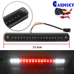 Smoke For 1988 1998 Chevy Gmc C K1500 Silverado Cargo Led 3rd Brake Lights Fast