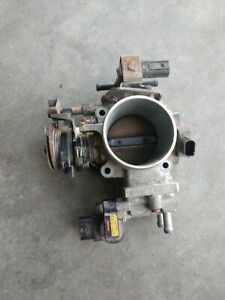 01 05 Honda Civic Throttle Body Assembly Oem 1 7l Sohc Ex Mt M t 5speed b20