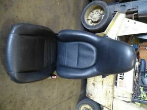 99 Porsche 911 996 Carrera Front Right Passanger Seat Electric Leather Black