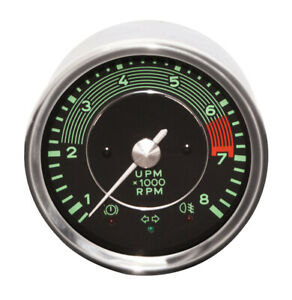 Vdo 356 Tachometer 0 To 8000rpm For Vw Dune Buggy Baja Bug Sand Rail