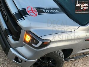 Hood Decal For Toyota Camry Corolla Matrix Tundra Rav4 Runner Tacoma Etc