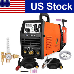 Hitbox Tig200a Lift Tig Welder 200a 110v 200v Igbt Mma Tig Welding Machine Set