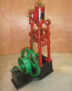 Vertical Steam Engine Old Neat And Rare Great For Your Man Cave