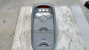 Oem 2003 Kia Sedona Lx Gray Center Console Clock Dome Light Trim W O Homelink