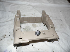 Oem 00 Honda Odyssey Beige Lower Center Dashboard Console Bezel W power Supply