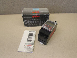 Muller Sc28 21 Programmable Time Switch