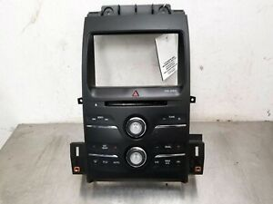 2014 2018 Ford Taurus Radio Control Panel 8 Display Screen Opening