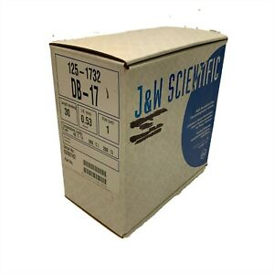 J w Scientific 125 1732 Db 17 High Resolution Gas Chromatography Column New