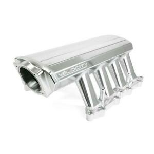 Tsp Velocity Clear Anodized Fabricated Aluminum Coyote Intake Manifold 84050ca