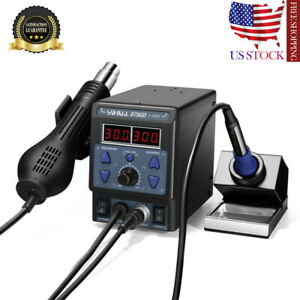 Yihua 700w 8786d i 2 In 1 Soldering Rework Station Iron Esd Welder Hot Us Stock