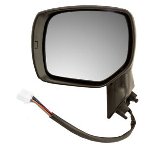 Drivers Side View Power Mirror Heated Assembly For 14 15 16 17 Subaru Forester