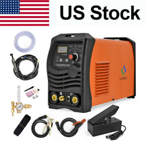 Hitbox 220v Hf Tig Arc Welder Ac Dc Pulse Welding Machine Aluminum Welder Set