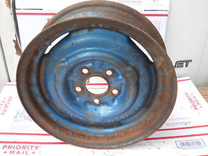 1957 1975 Dodge Plymouth Wheel Rim 14 5x4 5 4 1 2 Wide 3 1 2 Offset A100