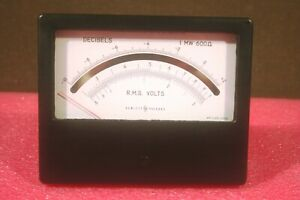 New Vintage Hp 1120 0098 Weston Instruments 1766 Dc Ma Meter From 1962 In Box