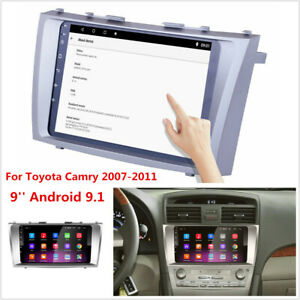 9 Android 9 1 For 2007 2011 Toyota Camry Stereo Radio Gps Navigation 1gb 16gb