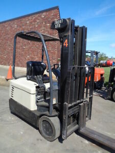 Used Electric Forklift Crown Sc4000 30 3000