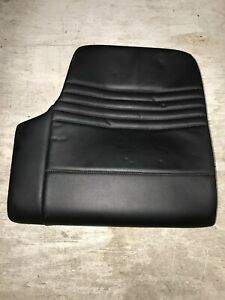 00 04 Porsche 911 996 Coupe Rear Right Lower Seat Pad Supple Leather Black
