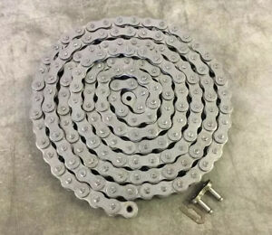 Elite 100 Heavy Roller Chain 10ft W connecting Link Ansi Standard