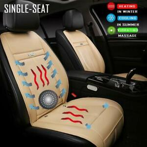 Heated Car Seat Covers Cushion Seat Warmers Heaters With Cooling And Massage
