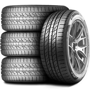 4 New Kumho Crugen Premium Kl33 235 55r19 101h As All Season A s Tires